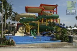 Аквапарк «Coco Splash» - Самуи детям