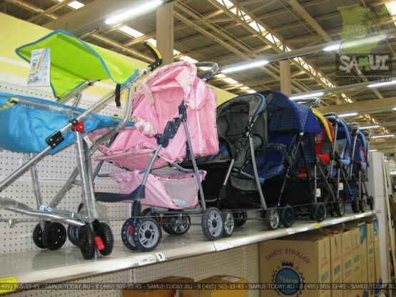 Детские коляски на Самуи