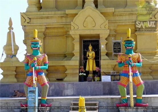 Храм Лем Сор (Wat Laem Sor)