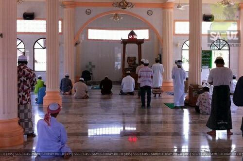Мечеть - остров Самуи